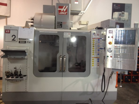 How to Turn Off the Haas VF2 - Cal Poly IME
