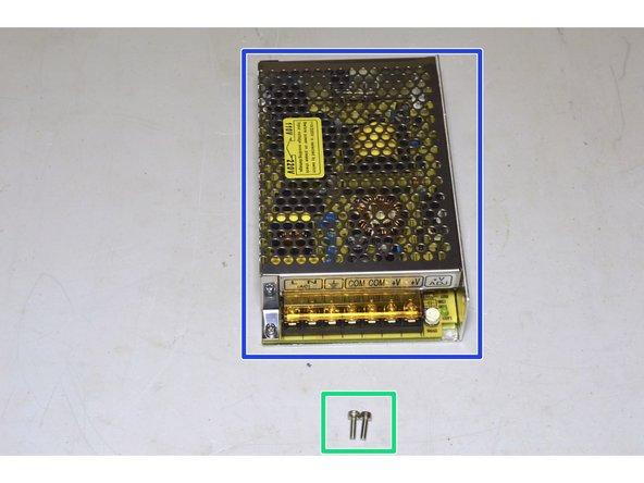 100W, 12V Power Supply