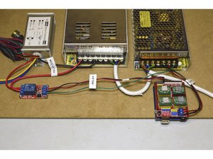 19. Connect Spindle Speed Control and Relay