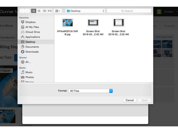 When you click browse for files, a window should appear so you can browse to the file you want to attach.