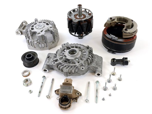 Ford Alternator Part #8S4T-10300-AC Rotor Assembly