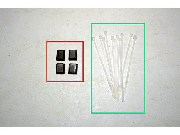 Cable Clips with adhesive (4 Pcs)