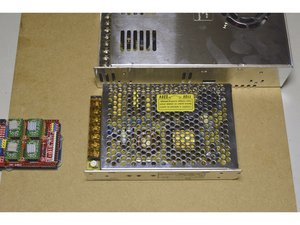 17. Mount Power Supplies