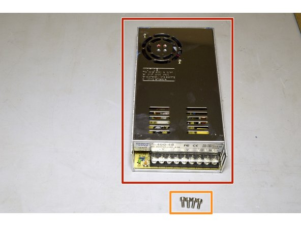 400W, 48V Power Supply