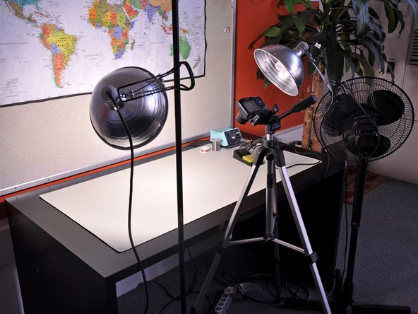 Once you've got a good working surface and proper lighting you're ready to start taking great guide photos!