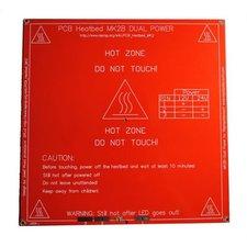 PCB HeatBed MK28 Dual Power