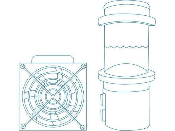 Water-Cooling Kit Assembly
