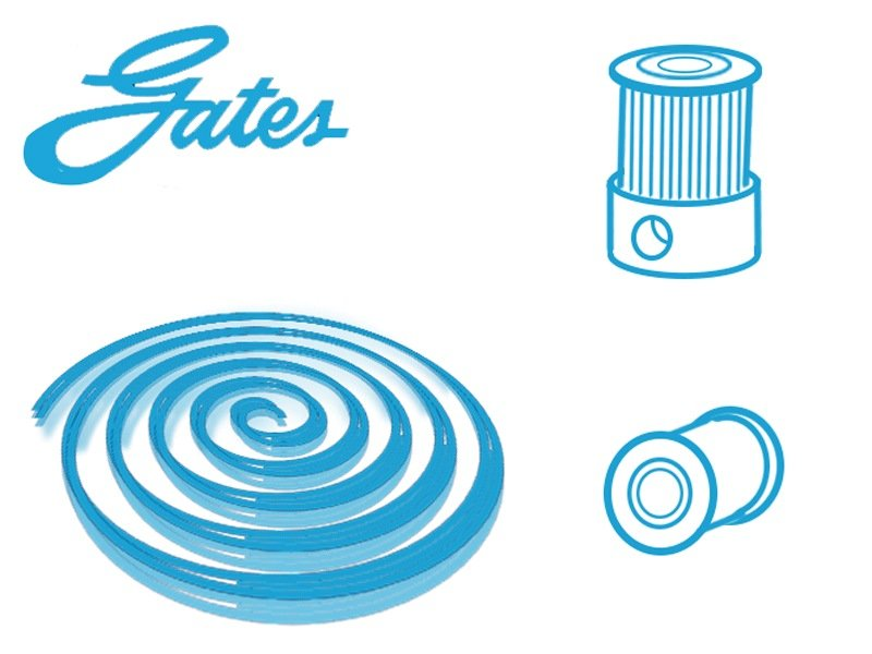 Gates Belts Pulleys and Idlers - E3D-Online