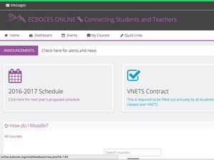 Moodle Website