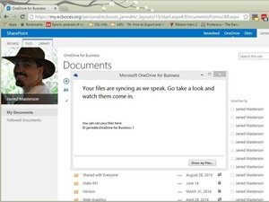 Sync your OneDrive for Business
