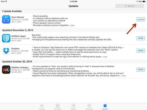 Upgrading the iPad - ECBOCES