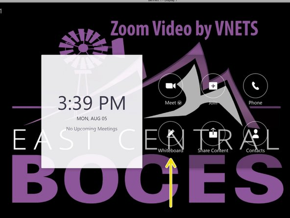 Presenting from a Zoom Room  - ECBOCES