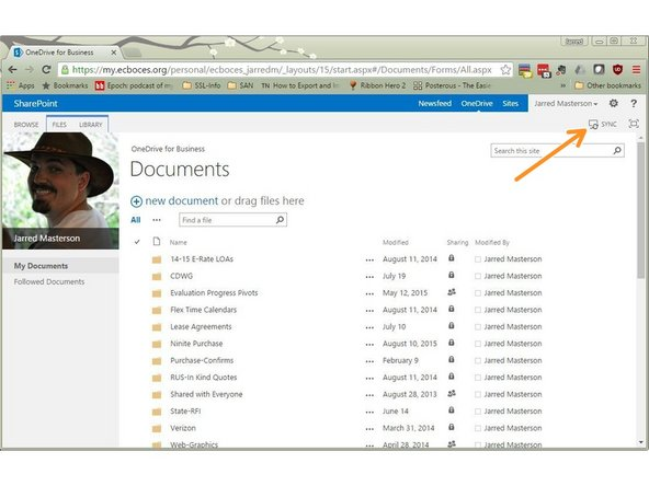 This is your OneDrive for Business / SkyDrive.  You may see your OneDrive called SkyDrive but they are the same .