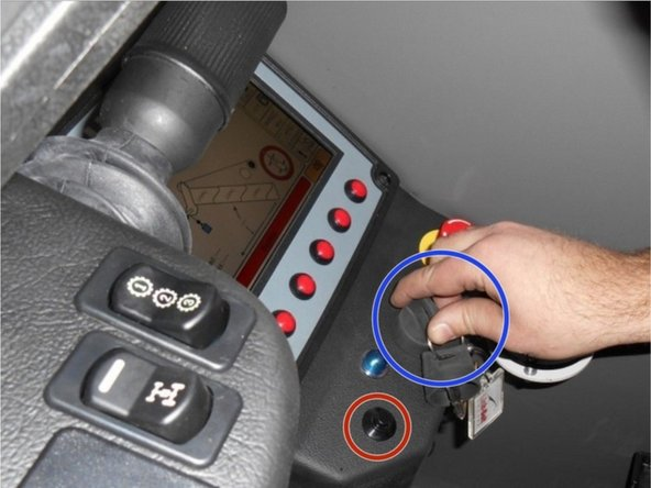 Verify all personnel and equipment are clear of the machine. (.5 Minutes)