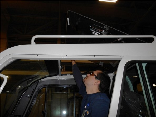 Remove all counterweight pins from cab. (1 Minute)
