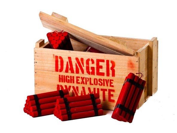 Use dynamite