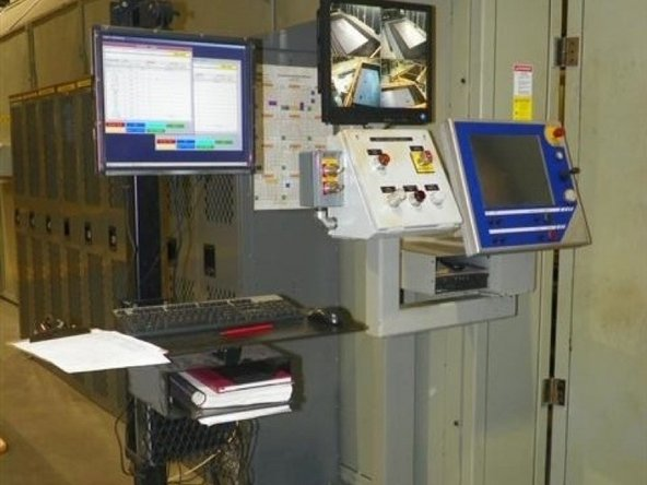 Documents at each work station are properly displayed and stored.