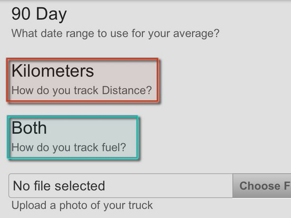 "Scroll down until you see the setting for ""How do you track your Distance"""