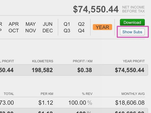 Login to letstruck.com and go to your Business / P&L Reports within ProfitGauges.