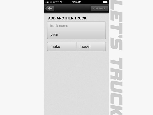 If you ever need to add a new or additional truck to your company you can do it with this form.