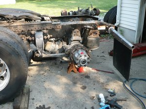 swapping rear differential from 20000lb to 23000lb