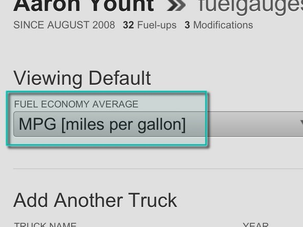 Go to your FuelGauges Settings page (see other image)