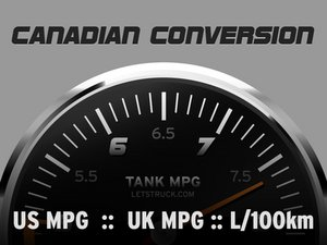 Setting up Canadian Conversion on FuelGauges