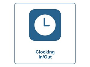 Clocking In/Out of the Timeclock