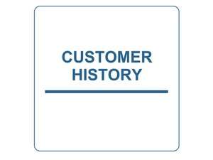 How to Find Customer History