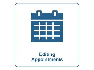 Editing Existing Appointments