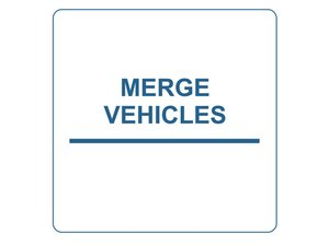 Merging Vehicles