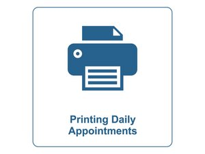Printing Daily Appointments
