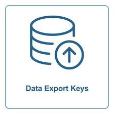 Data Export Keys