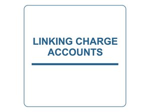 Linking Customer Charge Accounts