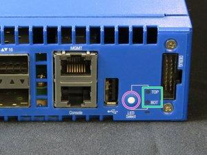 QSFP Port LED Indicators