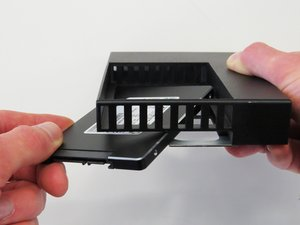 SSD Adapter Installation Techniques - 7mm