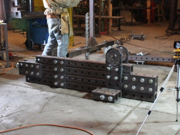 How to assemble the bottom frame of the Ironworker (in progress)