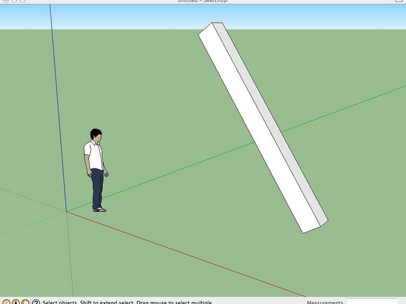 Measuring an Angle in Sketchup