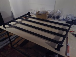 How to build the OSE Lasersaur Frame Table