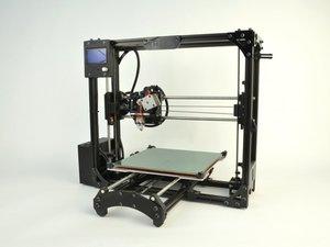 3D Printer - Development / Infographic