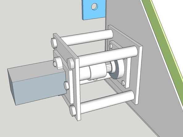 Installing Module - Drive Hydraulic Motor and Drive