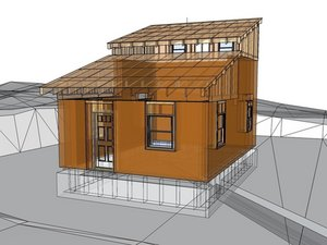 MicroHouse 3 Roof