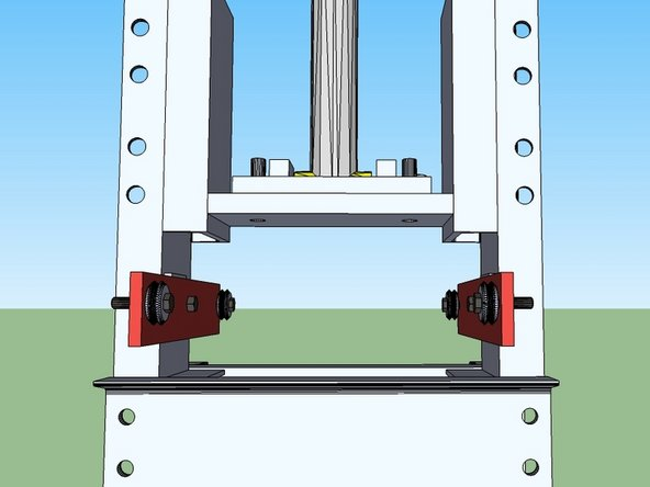 "Install the Roller guides as shown in the illustration. One side should have a 1/2"" spacer, and the other should have a 3/8"" spacer plate."