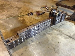 How to assemble the top frame of the Ironworker (in progress)