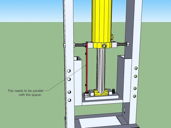 Install the magnet holder onto the press foot.