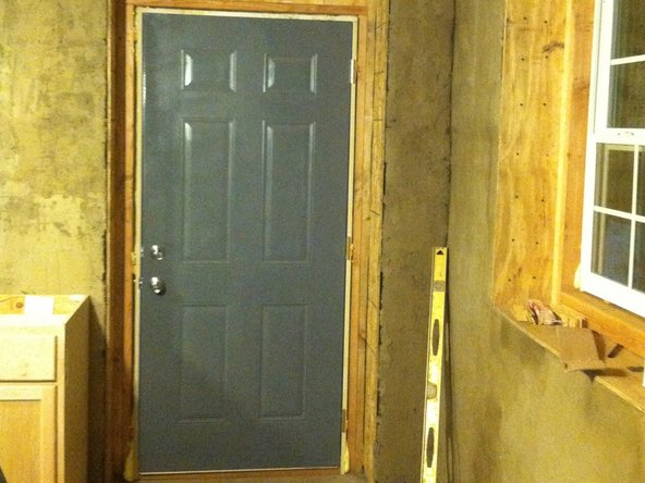 Building the MicroHouse 2 Door Module.