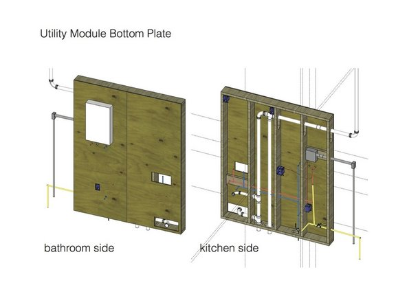Building the Microhouse Utility Module Frame