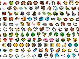 Make an Emoji into Vector Graphics for Fabrication