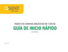 QC Analog HD DVR (Spanish)  Quick Start Guide
