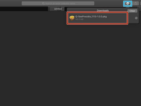 OS X Software Setup